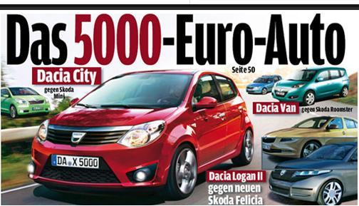 Dacia a publicat primele fotografii cu conceptul de microcar – Dacia Mini.