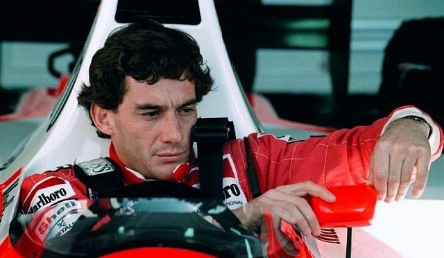 Tribut Ayrton Senna  pe circuitul de la Imola