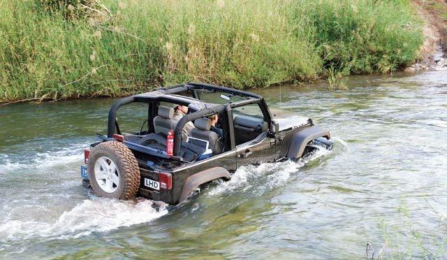 Sfaturi pentru traversarea apelor adanci