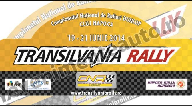 Urmatoarea etapa din CNR: Transilvania Rally 2014 20-21.06