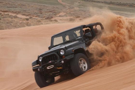 Tehnica pentru condusul pe nisip