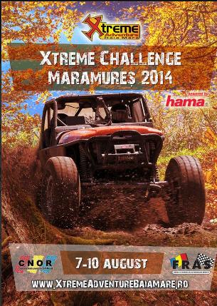 Campionatul National de Off Road – et. V va avea loc in Maramures intre 7-10 August