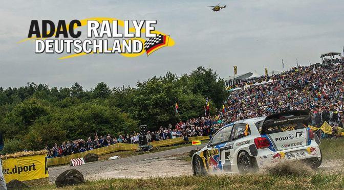 Urmatoarea etapa din WRC: ADAC Rallye Deutschland