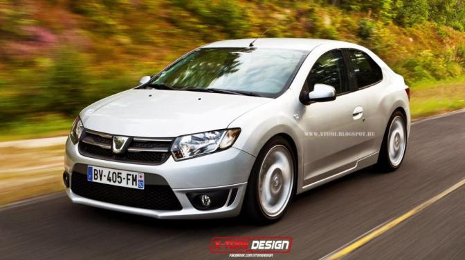 Dacia Logan COUPE va intra in productie si se va numi Dacia Logan SPORT