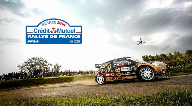 Urmatoarea etapa din WRC Rally de France – Alsace are loc in acest weekend