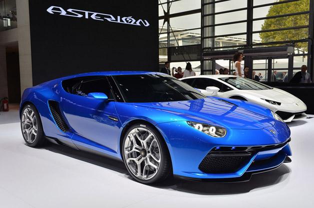 Lamborghini Asterion – conceptul hybrid de mari performante