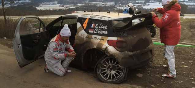 Loeb si-a anuntat participarea la Raliul Monte Carlo…  Si a gresit!