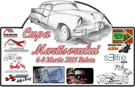 Cupa martisorului de rally sprint va avea loc intre 6-8 martie in Valcea