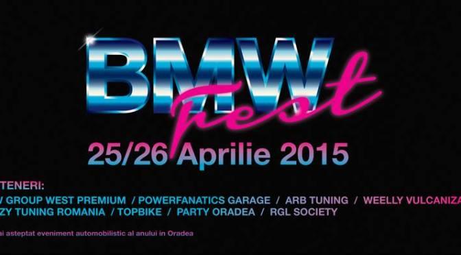 BMW Fest Baile Felix va avea loc in perioada 25-26 Aprilie