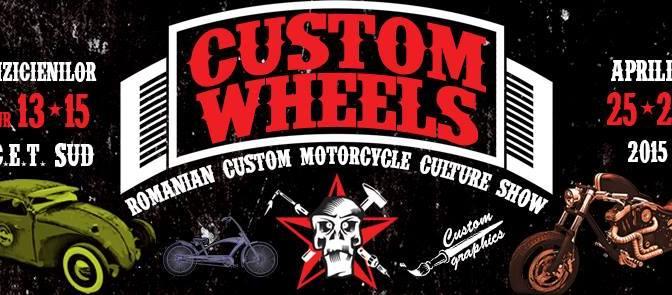 Custom Wheels Show – editia a 2-a va avea loc pe 25-26 aprilie in Bucuresti