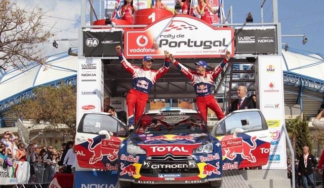 Rezultate finale Vodafone Rally de Portugal 2015