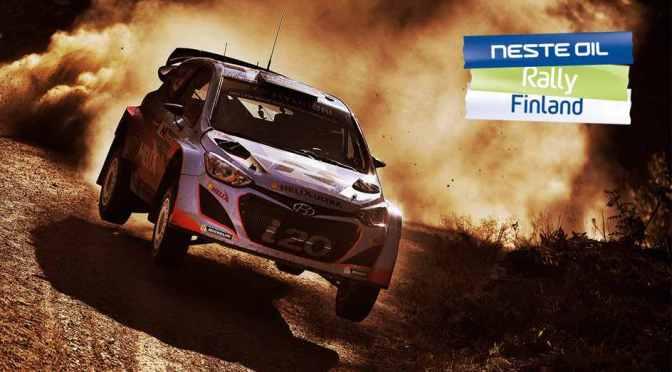 Urmatoarea etapa din WRC –  Neste Oil Rally Finland
