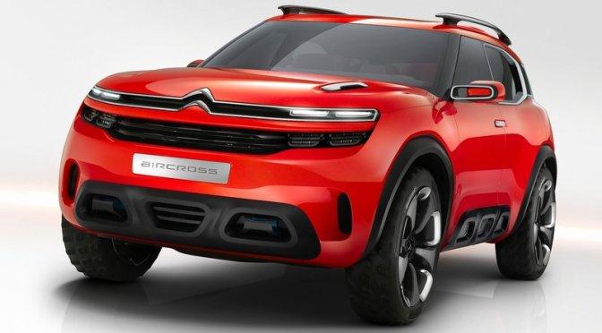 Conceptul Aircross de la Citroen va fi lansat in 2017
