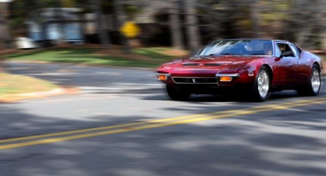 Pantera De Tomaso – un vis pe patru… roti