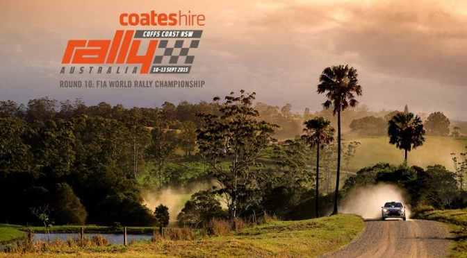 Rezultate finale Coates Hire Rally Australia 2015