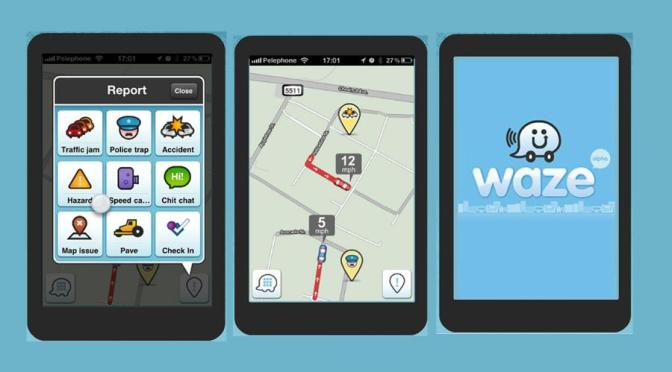 Waze app – in sfarsit o aplicatie updatata in timp real in Romania