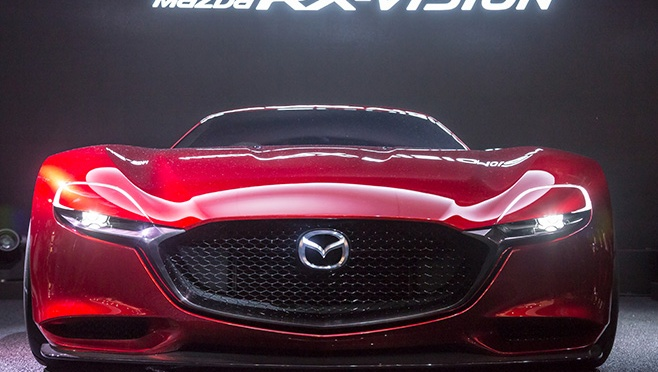 Vis proaspat ambalat – Mazda RX Vision