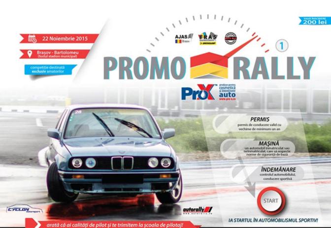 Promo Rally 2015 va avea loc weekendul acesta