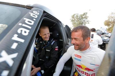 Hirvonen and Loeb @Dakar 2016, WRCRallyPress