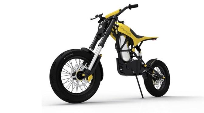 O2 Pursuit – motocicleta cu aer comprimat