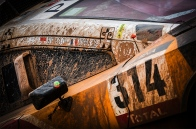 314 LOEB Sebastien (fra) ELENA Daniel (fra) PEUGEOT ambiance during the Dakar 2016 Argentina Bolivia, Etape 5 - Stage 5, Jujuy - Uyuni on January 7, 2016 in Bolivia - Photo Andre Lavadinho / A Vialatte / At World