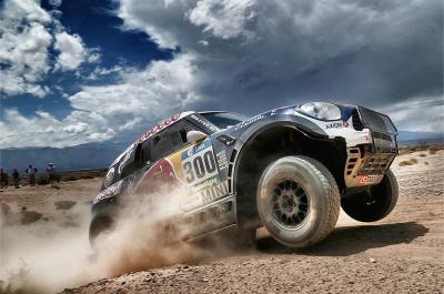 300 AL-ATTIYAH Nasser (qat) BAUMEL Matthieu (fra) MINI action during the Dakar 2016 Argentina, Bolivia, Etape 8 / Stage 8, Salta - Belen on January 11, 2016 - Photo Andre Lavadinho / Artwolrd / ASO