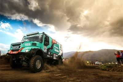 501 DE ROOY GERARD TORRALLARDONA MOISES RODEWALD DAREK (nld) IVECO action during the Dakar 2016 Argentina, Bolivia, Etape 8 / Stage 8, Salta - Belen on January 11, 2016 - Photo Andre Lavadinho / Artwolrd / ASO
