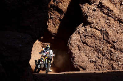 49 MEO Antoine (fra) KTM action during the Dakar 2016 Argentina, Bolivia, Etape 8 / Stage 8, Salta - Belen, from January 11, 2016 - Photo Gregory Lenormand / DPPI