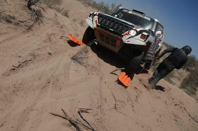 326 ZAPLETAL Miroslav (cze) MARTON MACIEJ (pol) HUMMER action during the Dakar 2016 Argentina - Bolivia, Etape 9 / Stage 9, Belen - Belen on January 12, 2016 in Belen, Argentina - Photo Andre Lavadinho / A Vialatte / @World / ASO