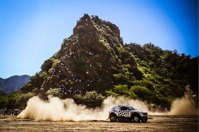 315 HIRVONEN Mikko (fin) PERIN Michel (fra) MINI action during the Dakar 2016 Argentina - Bolivia, Etape 9 / Stage 9, Belen - Belen on January 12, 2016 in Belen, Argentina - Photo Andre Lavadinho / A Vialatte / WRCRallyPress