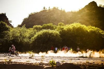 02 GONCALVES Paulo (por) HONDA action during the Dakar 2016 Argentina - Bolivia, Etape 9 / Stage 9, Belen - Belen on January 12, 2016 in Belen, Argentina - Photo Andre Lavadinho / A Vialatte / @World / ASO