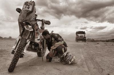 54 MINAUDIER Loic (fra) KTM action during the Dakar 2016 Argentina - Bolivia, Etape 10 / Stage 10, Belen - La Rioja on January 13, 2016 in La Rioja, Argentina - Photo Andre Lavadinho / @World / ASO