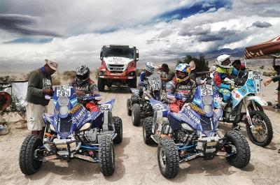 Checkpoint illustration during the Dakar 2016 Argentina - Bolivia, Etape 10 / Stage 10, Belen - La Rioja on January 13, 2016 in La Rioja, Argentina - Photo Andre Lavadinho / @World / ASO