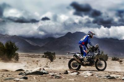 42 VAN BEVEREN Adrien (fra) YAMAHA action during the Dakar 2016 Argentina - Bolivia, Etape 10 / Stage 10, Belen - La Rioja on January 13, 2016 in La Rioja, Argentina - Photo Andre Lavadinho / @World / ASO