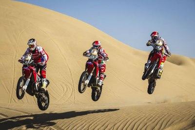 HRC team Dakar 2016