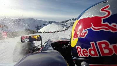 Max Verstappen on snow 2016 WRCRallyPress