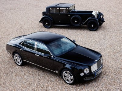 bentley old and new
