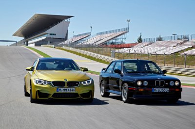 bmw m3 mk1 and 2016