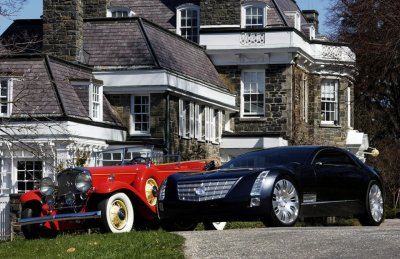 cadillac old and new