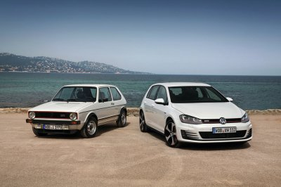 golf gti mk 1 and mk 6