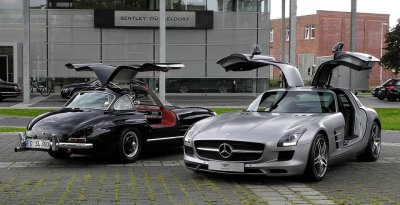 gullwing old new