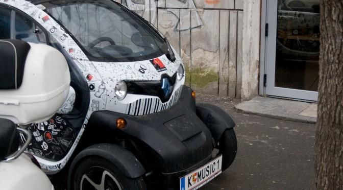 Renault Twizy in Bucuresti – Rara Avis