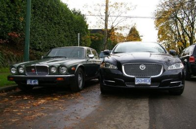 jaguar soverein and xj type