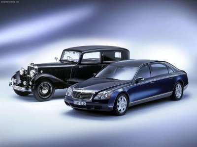 maybach old and new