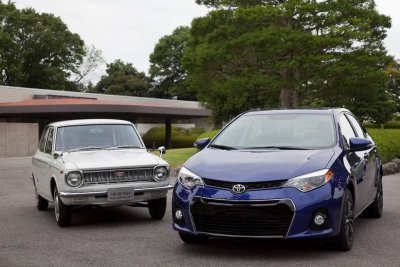 toyota old and new