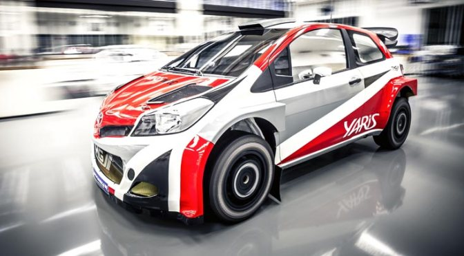 Toyota revine in WRC – Noul Yaris 2016