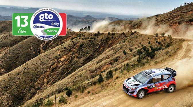 Urmatoarea etapa din WRC – Rally Guanajuato Corona