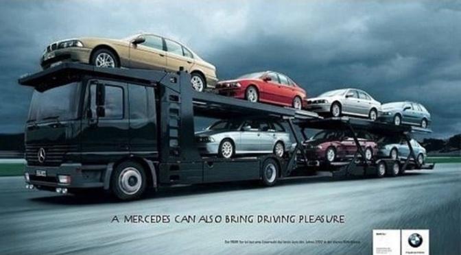 Mercedes felicita BMW