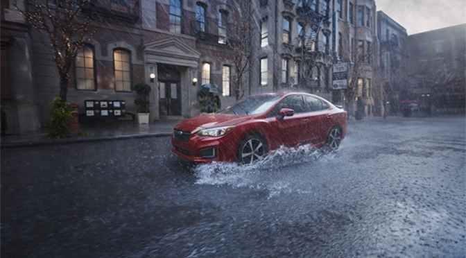 Subaru lanseaza Impreza 2017