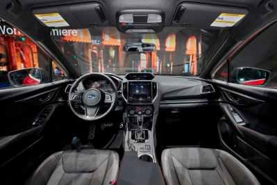 Subaru Impreza 2017 interior WRCRallyPress